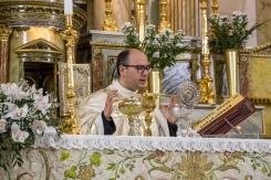 Nella celebrazione del Giovedì Santo, le ostie sono consacrate per l'ultima volta. Potranno essere consacrate nuovamente la domenica di Pasqua.