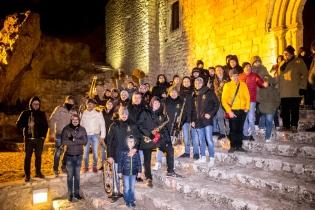 """Se i portatori sono inesauribili, i membri dell'associazione culturale socio musicale """"Santa Cecilia"""" complesso bandistico città di Caltabellotta, guidato dal Maestro Luigi Circo."""