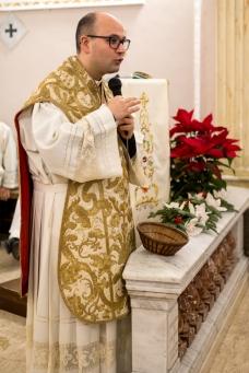L'omelia di Padre Antonio Corda.