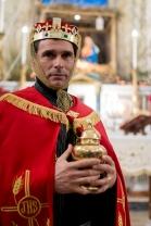 Melchiorre con l'oro, per il Re dei Re.